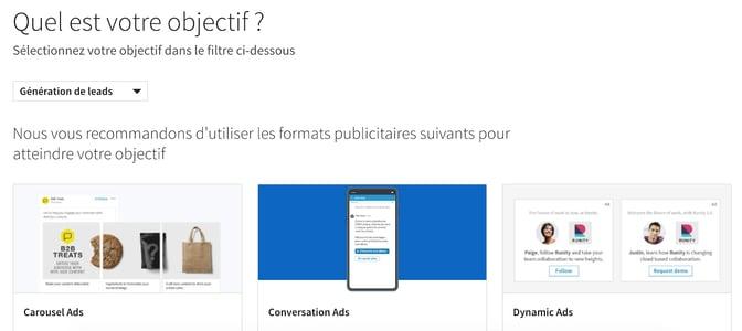 Formats-Objectifs-LinkedIn
